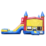 Jump Castle with Water Slide