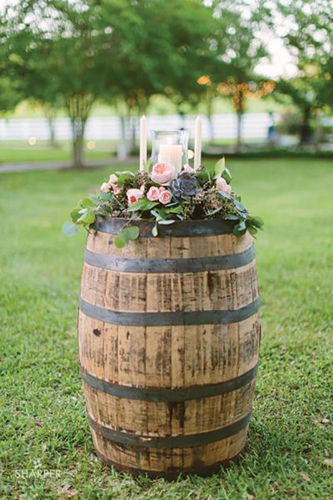 Rent Whiskey Barrels Wine Barrels For Weddings In Maine
