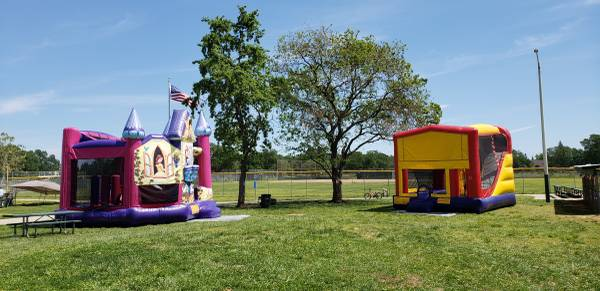 Bounce House Party in a Park