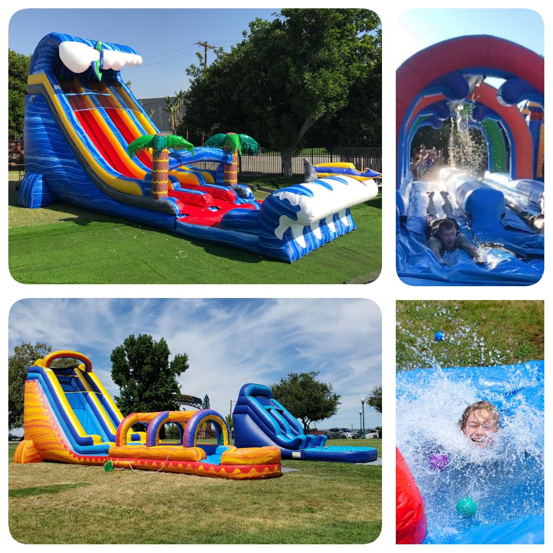 Gift Card Giver a Summer Water Slide Party!