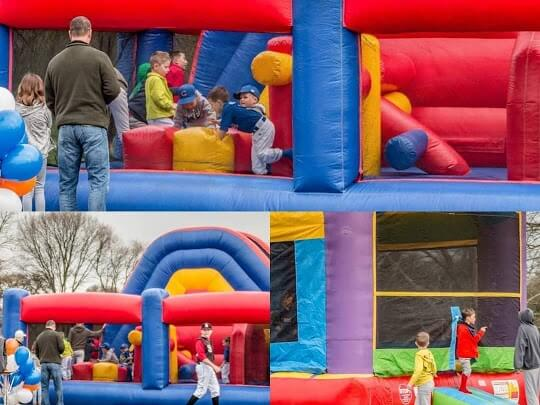 EJ Funday Titan Obstacle Course
