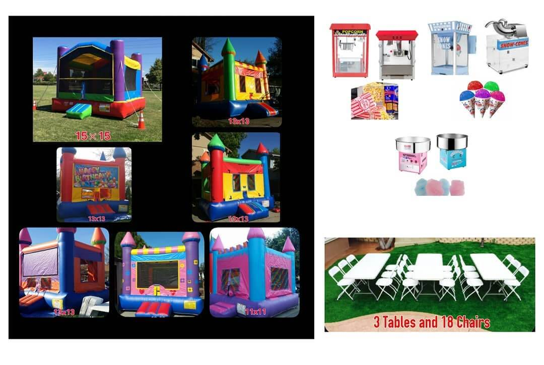 EJFunday Bounce House Jumper Party Package