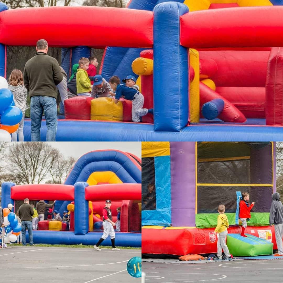Bounce House Obstacle Courses Sacramento
