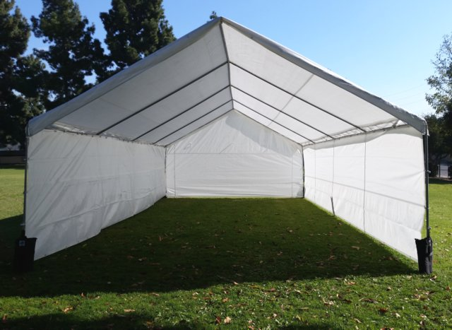 20x20 Frame Tent Style Canopy
