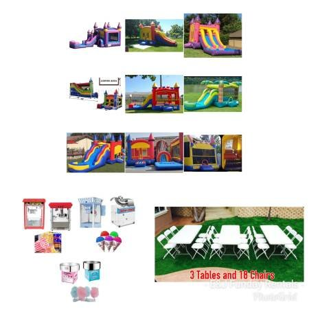 Dry Combo Bounce House Party Package