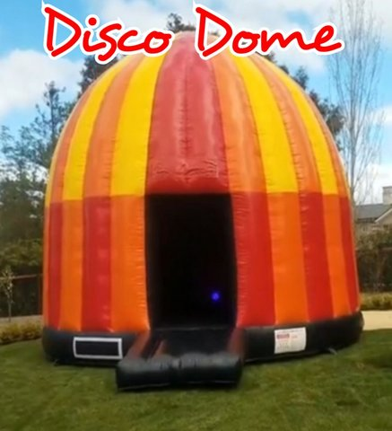 Disco Dome Bounce House w/Speaker