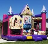 Combo Deluxe Disney Princess Castle w/Obstacles and Hoop