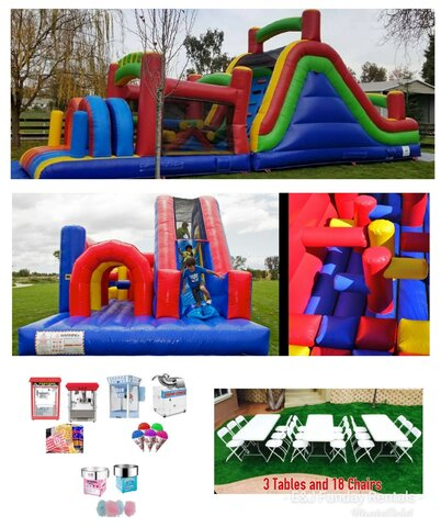 Obstacle Course Party Package