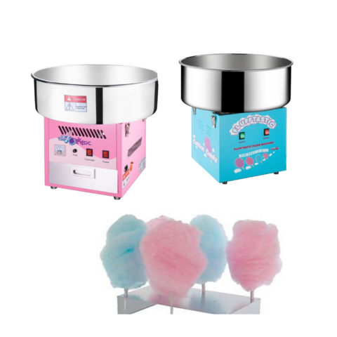 Cotton Candy Machine Includes Supply Kit