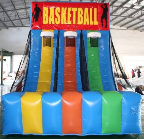 Triple Hoops Basketball Interactive 9 mini balls