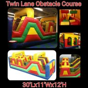 30ft Twin Lane Obstacle Course