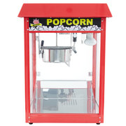 Popcorn Machine with 8oz kettle includes supplies for 40 1oz servings