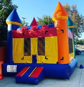 11x11 Rainbow Castle Bounce House Jumper