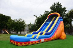 Large Turbo Blaze Water Slide | Area Needed 24'Wx44'Lx24'H