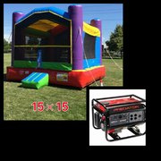 #1 15x15 Jumper in a Park w/Generator 3500+watts