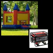 #3 13x13 Red and Yellow Jumper in a Park w/Generator 3500+watts