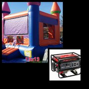 #7 13x13 Multi Color Girl Jumper in a Park w/Generator 3500+watts