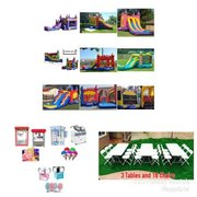 Dry Combo Bounce House Party Package Save $10 through End of Winter