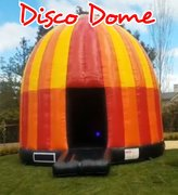 Dance Party Disco Dome Bounce House Jumper  20'Wx25'Lx18'H