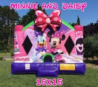 15x15 Disney's Minnie and Daisy Bounce House