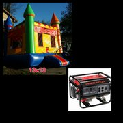 #6 13x13 Blue Boy Jumper in a Park w/Generator 3500+watts