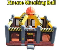 Coming Soon Xtreme Wrecking Ball Bounce House  25'Wx27'Lx17'H
