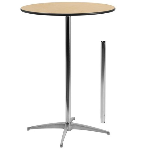 30 inch Round High-Top Table
