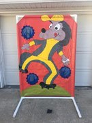 Dog Toss Carnival Game