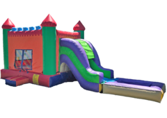 4 in 1 Castle W.Slide Combo