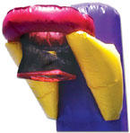Bounce House Basketball Hoop | Orange County
