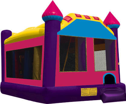 Princess Castle 5 in 1 Jumper Slide Obstacle
