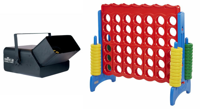 Jumbo Connect 4 and Bubble Machine Deal