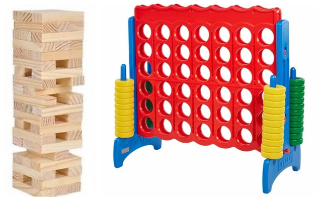 Jumbo Connect 4 and Jumbo Jenga Deal