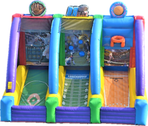 Large 3 in 1 Sports (Baseball, Football, Basketball) [Brand New]