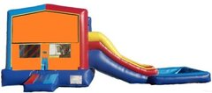 Mini Dual Water Slide/Jumper
