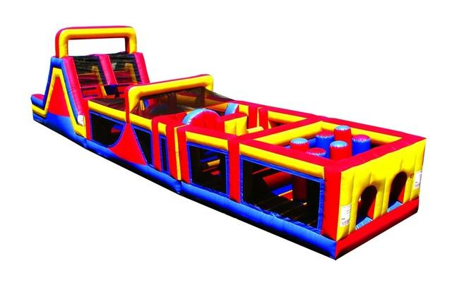 65 Foot Mega Obstacle Course