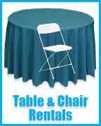 Tables and Chair Rental