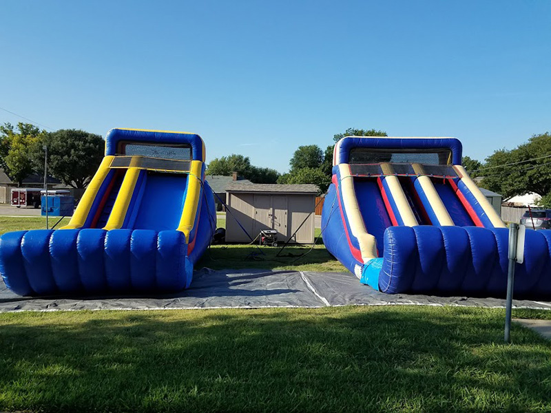 14 ft Water Slides Front Load