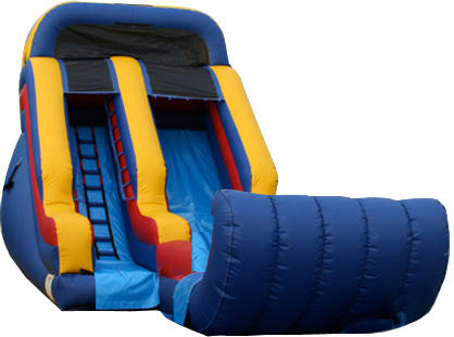16Ft Front Load Water Slide 519