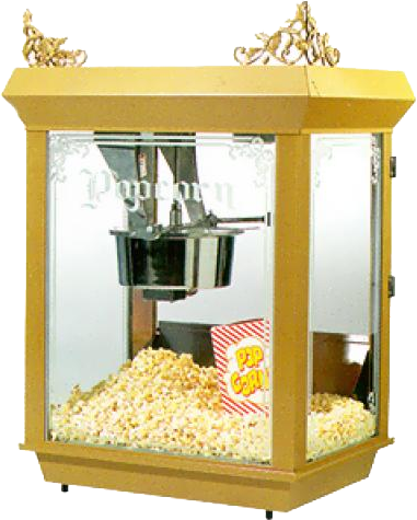 Large Popcorn Machine 14oz