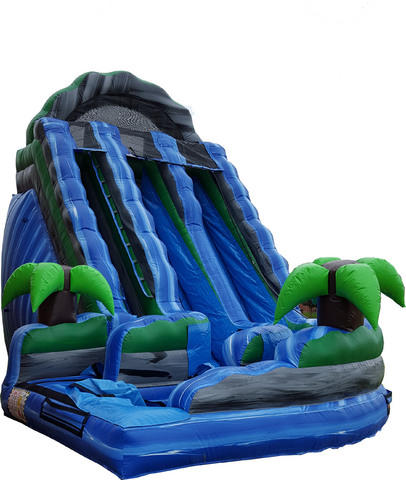 Amazon Curvy 18Ft Double Lane Water Slide 524