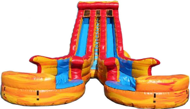 Texas Heat Wave Dual Lane Water Slide 523
