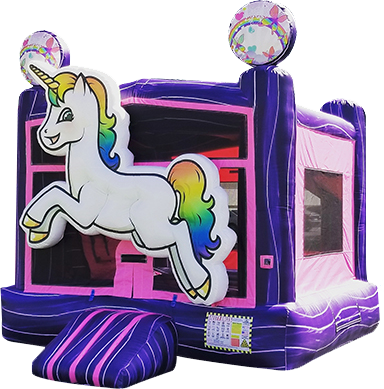 3D Unicorn Bounce House 105