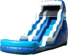 20Ft Roaring Rapids Water Slide w Pool 510