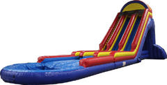 27Ft Front Load Double Lane Water Slide 514