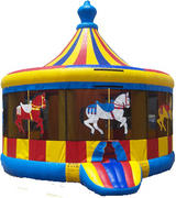 Carousel Bounce House 205