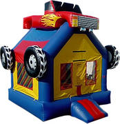 Monster Truck Bounce House 212