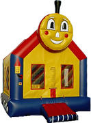 Train Face Bounce House 203