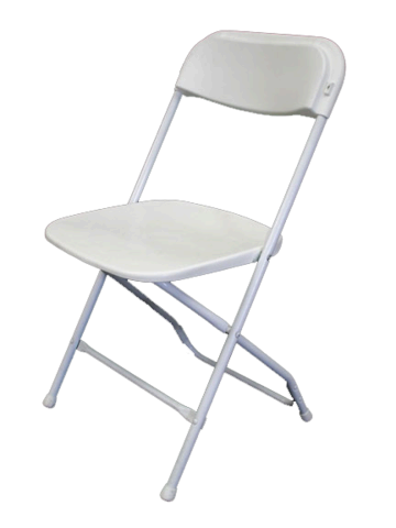 White Adult Chairs