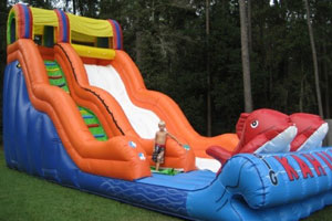 water slide rentals Warrington fl